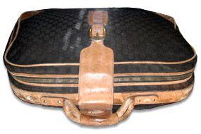 Gucci suitcase