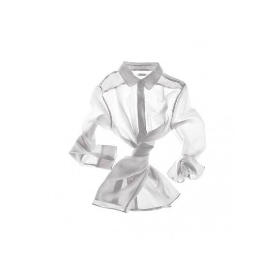 Шелковая блуза Everlane, 615 грн
