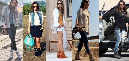 Спортивная обувь, кеды на платформе, кроссовки - модно и стильно