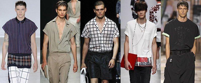 Модные мужские рубашки и футболки сезона Весна-Лето 2015Модные мужские рубашки и футболки сезона Весна-Лето 2015