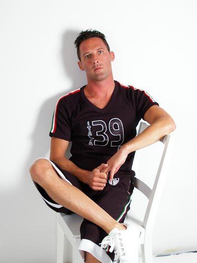 D&G GYM Dolce & Gabbana Men 39 Two-Piece Jersey Short Set Black