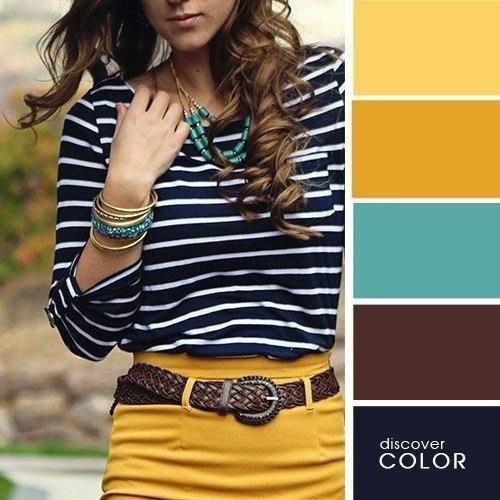 Коричневый и желтый - вечная гармония. Правильно сочетайте цвета и у вас все получится.