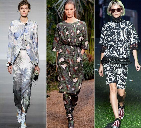 Урбанистические джунгли: Emporio Armani, Hermès, Marc Jacobs