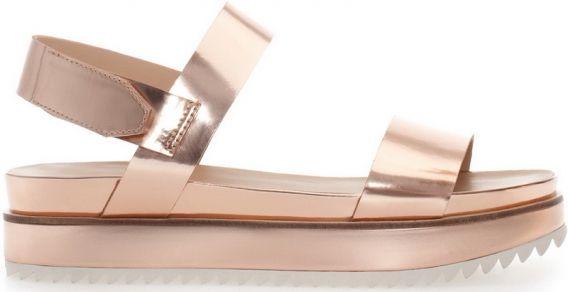 Сандалии-тапочки Zara