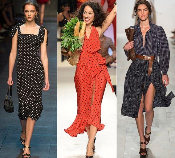 Горошек: Dolce & Gabbana, Moschino, Michael Kors