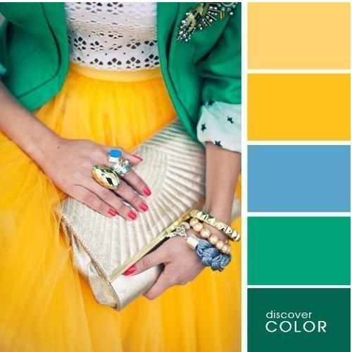 Правильный подбор цветов в одежде гарантируе вам стопроцентный успех.