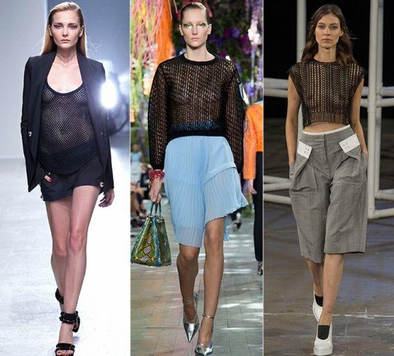 Сетка: Anthony Vaccarello, Christian Dior, Alexander Wang