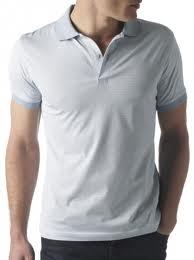 Sunspel Blue Polo Shirt