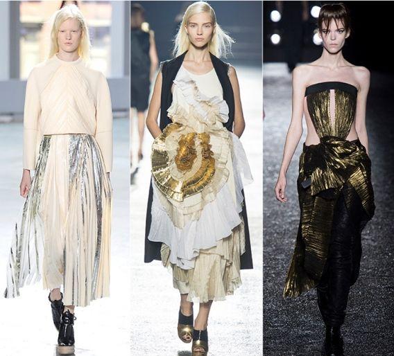 Золотые штрихи: Proenza Schouler, Dries Van Noten, Haider Ackermann