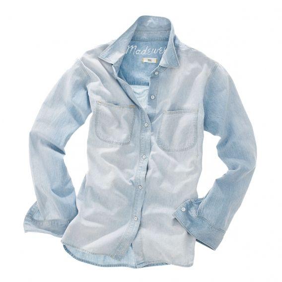 Рубашка из денима Madewell, 540 грн