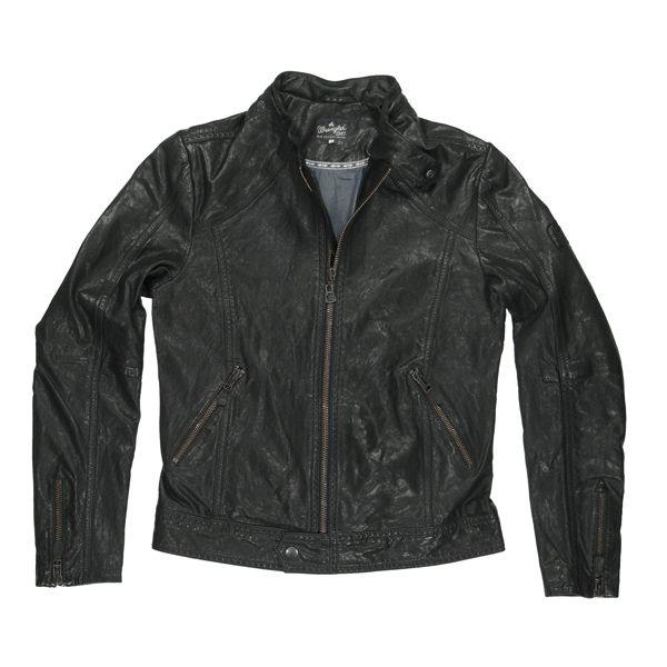 Кожаная куртка Wrangler сезона весна 2011