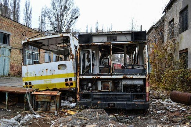 Замерший ток: Киевский завод электротранспорта