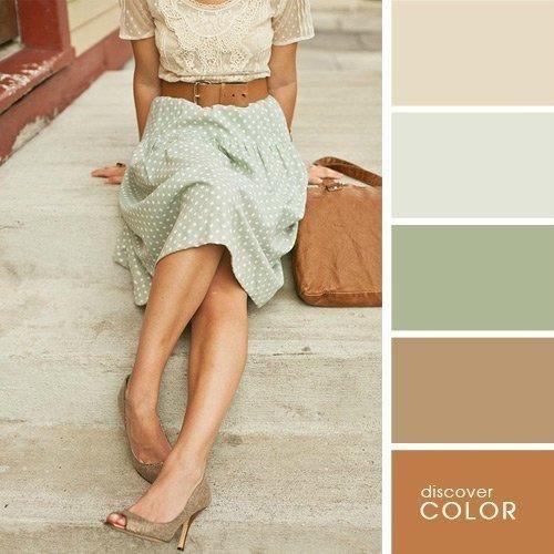 Правильное сочетание цветов всегда покажет то, что у вас есть вкус