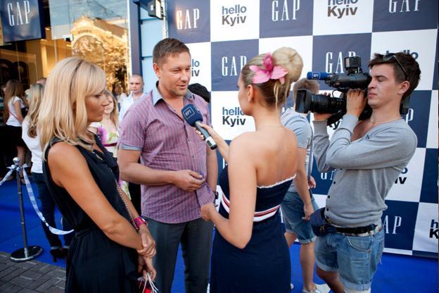 Фото со дня открытия магазина Gap в Киеве, фото 2