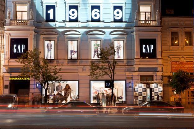 Фото со дня открытия магазина Gap в Киеве, фото 4