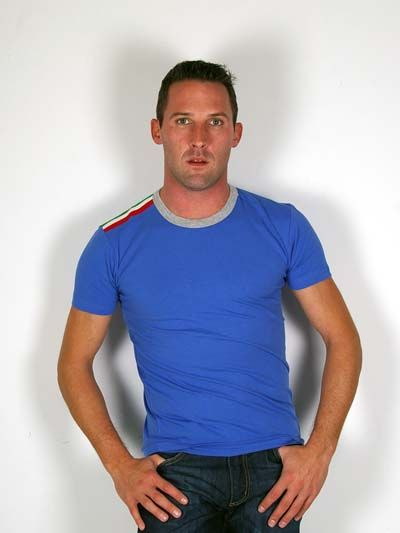 D&G GYM Dolce & Gabbana Tight Fit T-Shirt for Men Blue