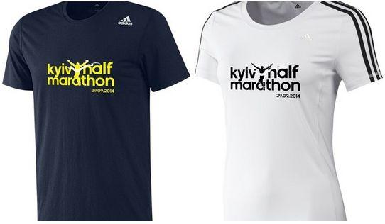 Футболка Adidas Kyiv Half Marathon (Марафон) 2014