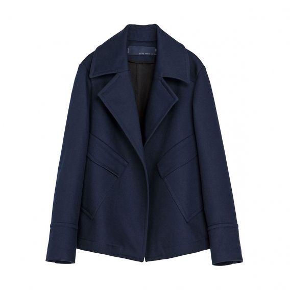 Укороченное пальто Zara, 1 129 грн