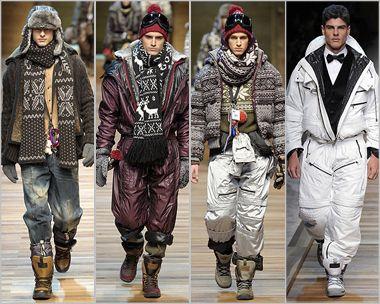 Чоловіча мода Сезон Осінь 2010 - Зима 2011. Тенденції