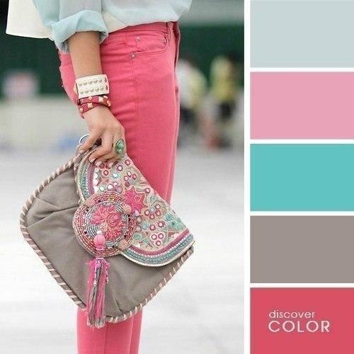 Быть привлекательной во время вечерней прогулки по набережной вам помогут нежный розовый и легкий берёзовый.