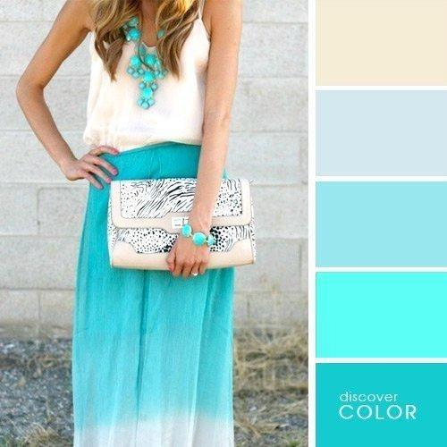 Не бойтесь использовать яркие цвета в одежде, главное правильно подбирайте для них оттенки в аксессуарах.